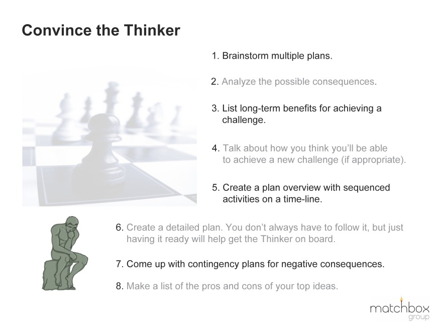 Convince the Thinker